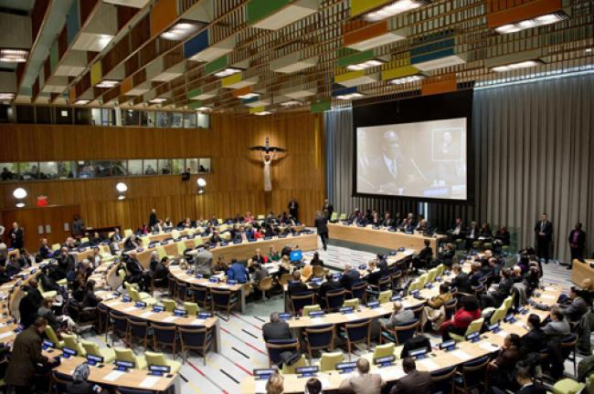 General Assembly pays tribute to legacy of Mandela