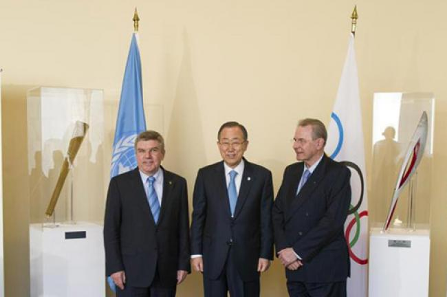 UN joins Olympic Committee to promote sport in development