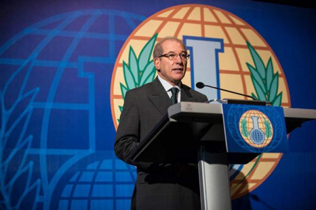 Ban lauds awarding of Nobel Peace Prize to OPCW