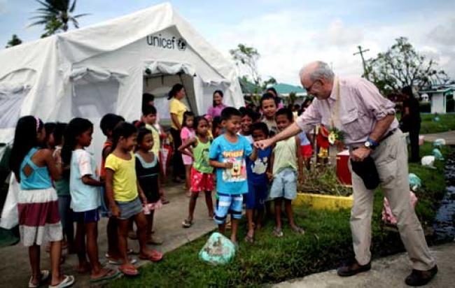 Philippines: UN ramps up aid for child victims of typhoon