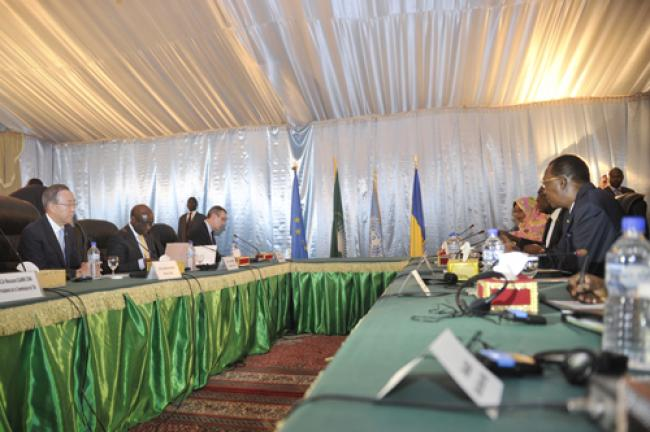 Ban pledges UN support for Chad, wider region