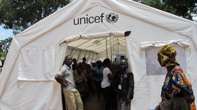 CAR: UNICEF warns of running low on life-saving supplies