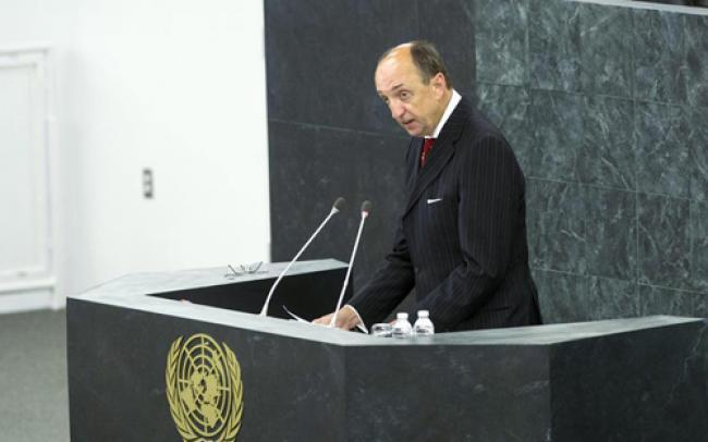 International court briefs UN on progress, challenges