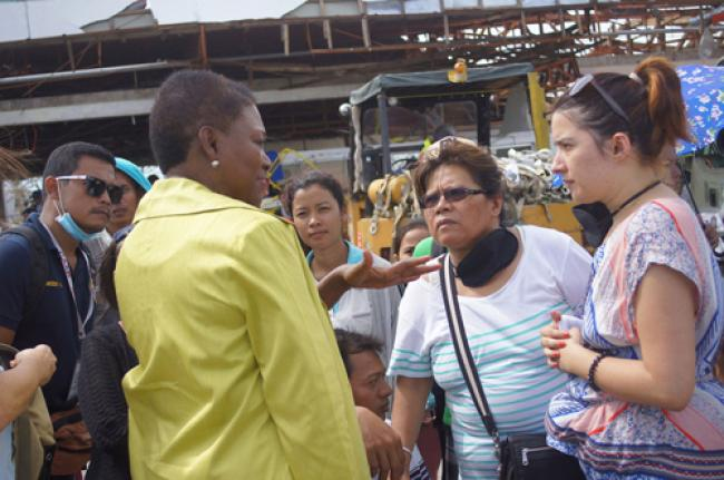 Philippines: Aid workers concerned about logistical challenges