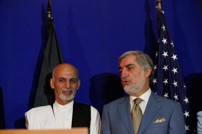 Ban urges Afghan presidential candidates to agree on unity government
