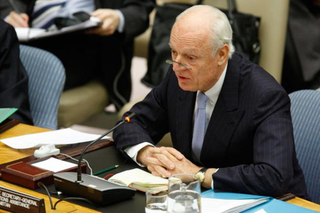 New UN envoy for Syria meets President, senior ministers in Damascus