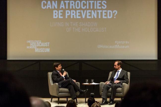 In Washington, UN rights chief says atrocities can be prevented through better global leadership