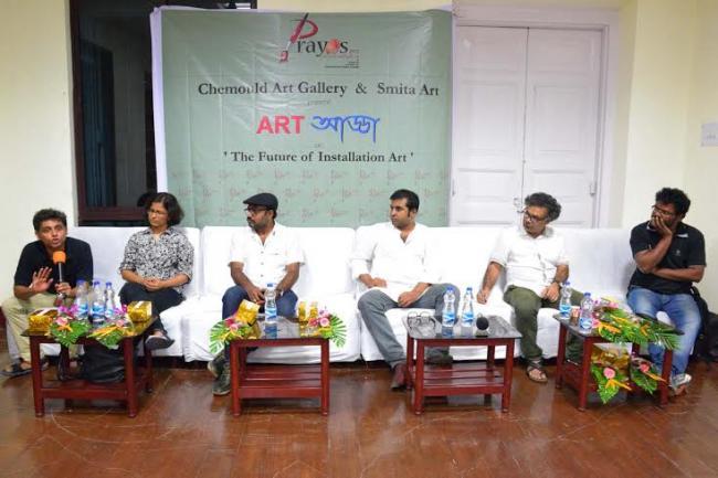 Kolkata's Chemould Art Gallery hosts Art Adda