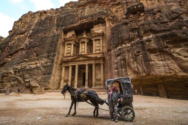 Queen Rania, Google collaborate to promote Petra in Jordan