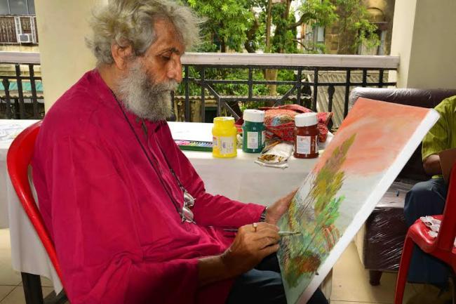 Kolkata: Chemould,Smita Art hold Freedom  art workshop