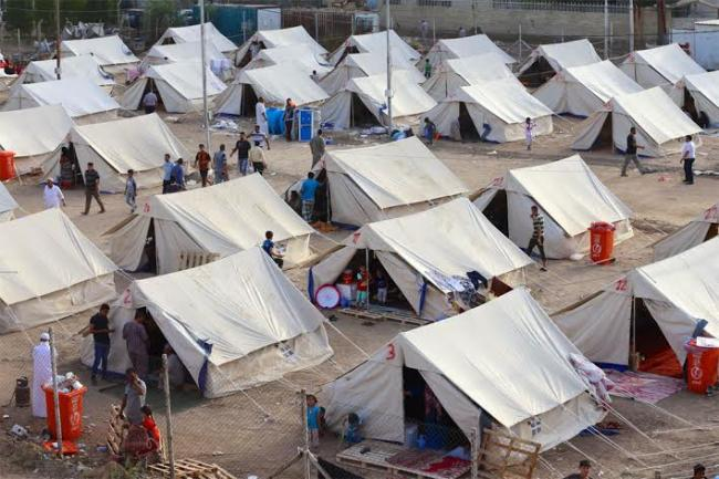 UN agency opens two new camps for displaced Iraqis in Baghdad