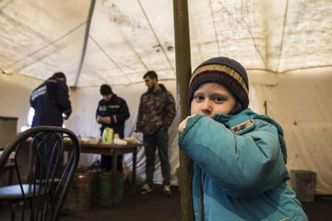 UN refugee agency says 'over a million' may already be displaced by eastern Ukraine violence
