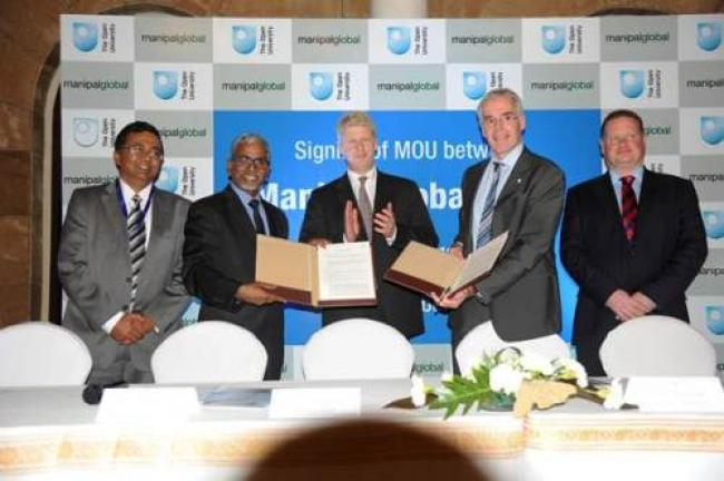 Manipal Global  signs MoU with Open University UK