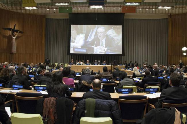 At thematic debate, UN calls on Member States to boost funding for post-2015 development