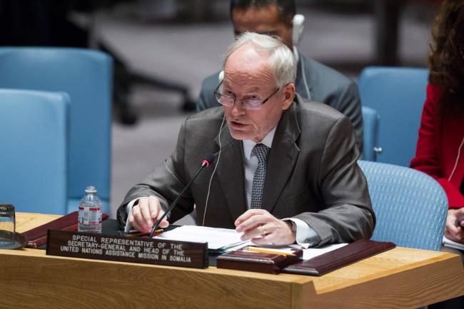 UN Somalia envoy 'excited and worried' about political progress in year ahead