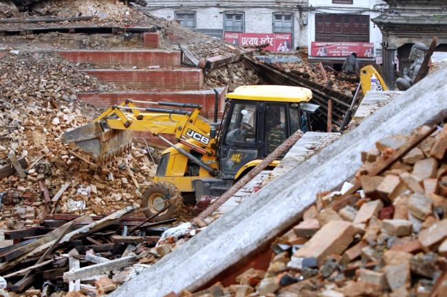 JCB announces $1 million diggers donation to quake zone
