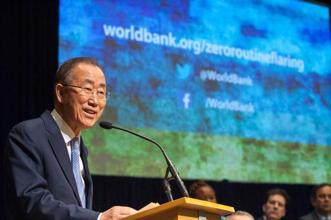 Public, private sectors essential for progress on climate change: UN chief