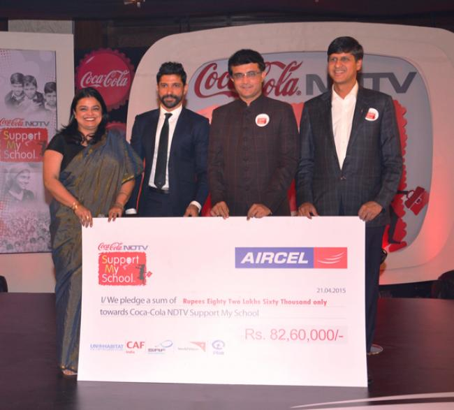 Aircel committed to construct toilets, provide sanitation facilities for TN schools