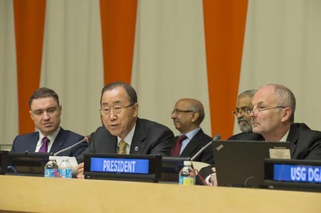 'Now is the time for implementation,' Ban urges session on integrating UN sustainability agenda