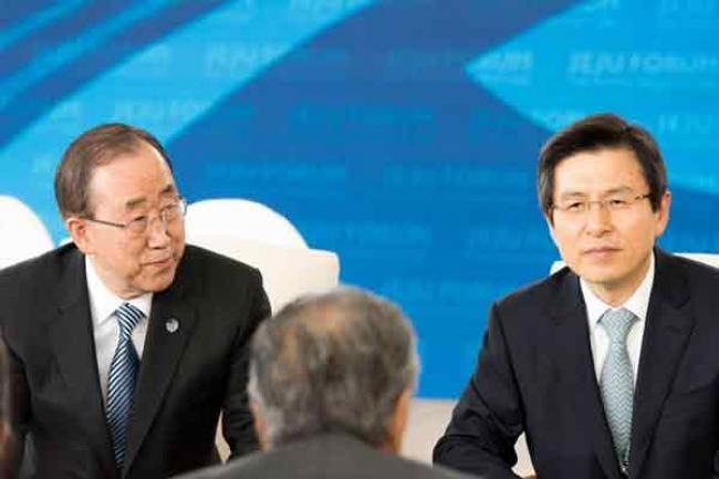 In Republic of Korea, Ban urges Asian nations to settle border disputes, historical issues