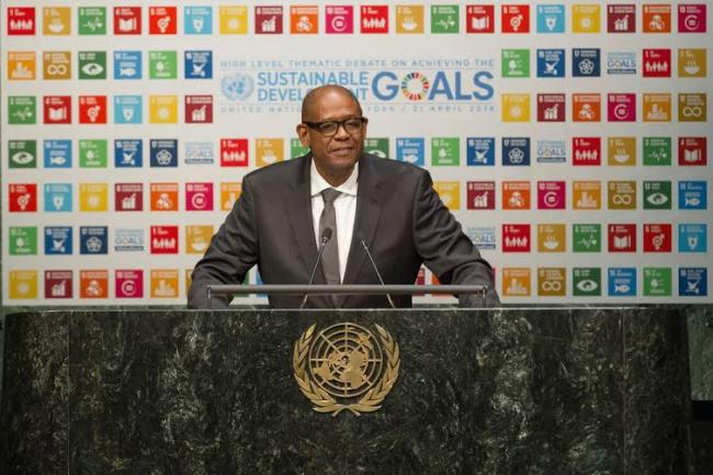 At UN, Forest Whitaker calls on leaders to ensure benefits of global goals 'touch everyone'
