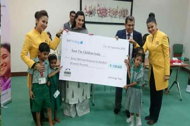 JetPrivilege donates 5 million JPMiles to NGOs