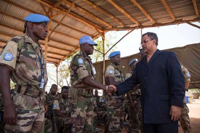 INTERVIEW: Conversation with top UN official on security and peace efforts in Mali