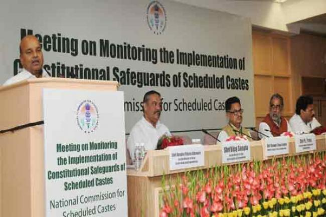 Indian Minister calls for effective implementation of Constitutional safe guards for Scheduled Castes