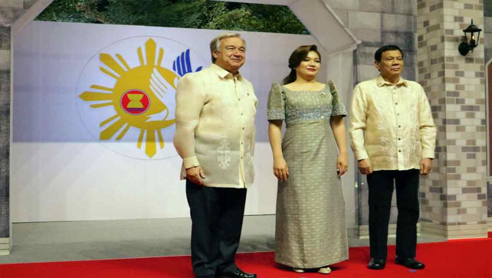 In Manila, UN chief tells South-east Asian summit cooperation is vital to address shared challenges