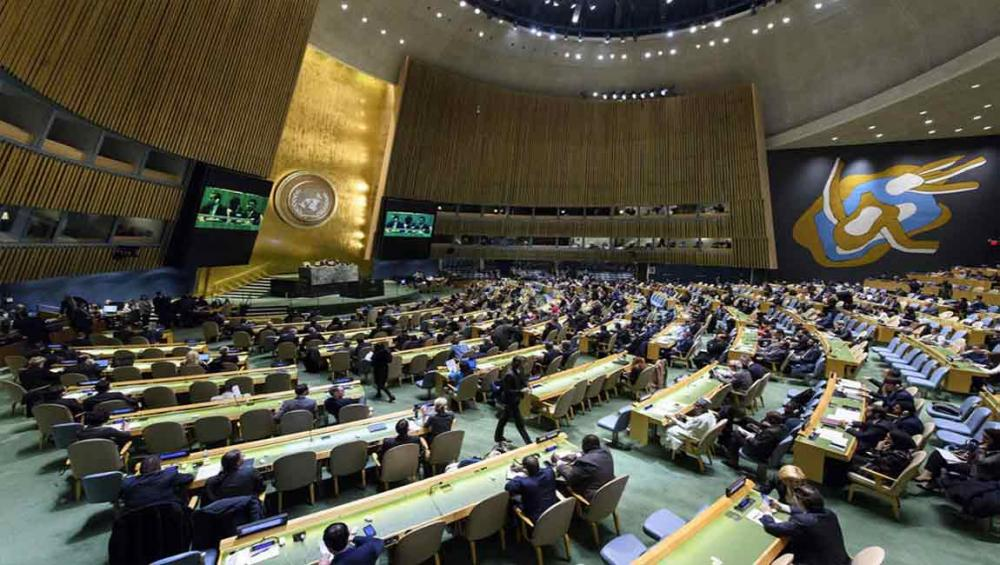 General Assembly demands all States comply with UN resolutions regarding status of Jerusalem