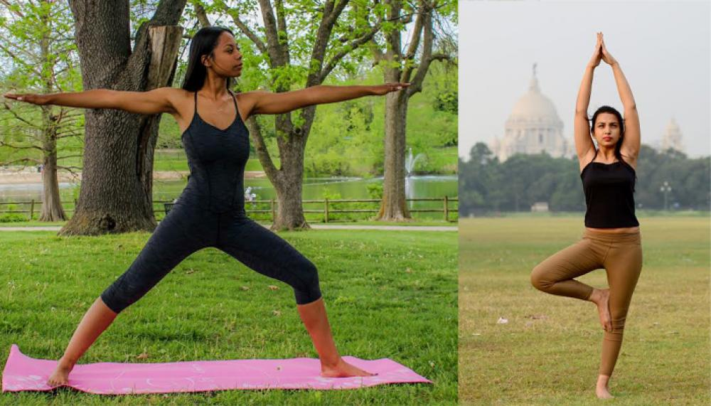 Yoga reflects flow of cultures East and West