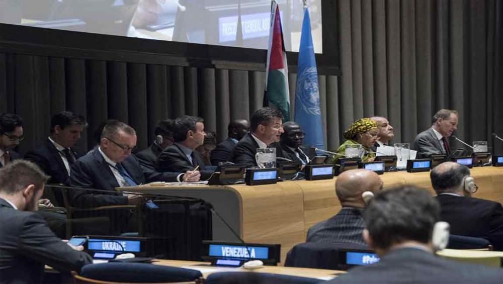 On Day of Solidarity, UN reaffirms two-state solution as only answer to 'question of Palestine'