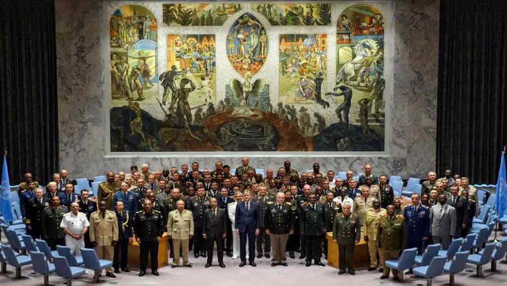 Strengthening UN peacekeeping tops agenda as chiefs of defence meet in New York