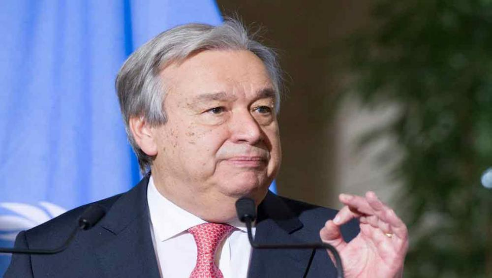UN chief welcomes Seoul's proposal to reopen dialogue with Pyongyang