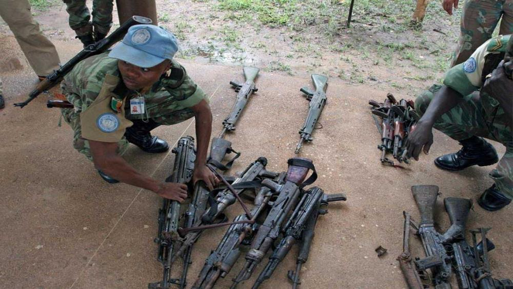 Disarming and reintegrating fighters into society key to sustaining peace – UN officials