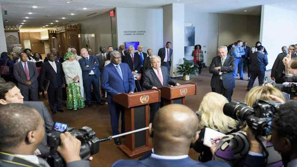 UN, African Union sign new partnership framework to better respond to evolving challenges
