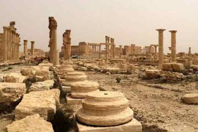 UN confirms destruction of sites in Palmyra, other ancient Syrian cities