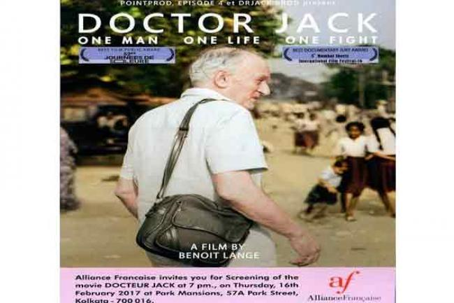 Kolkata charity calls for donations to help poor at screening of film on City of Joy's UK-born pavement doctor