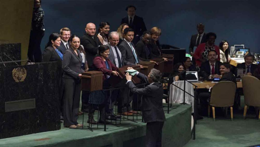 UN General Assembly elects new members to the Human Rights Council