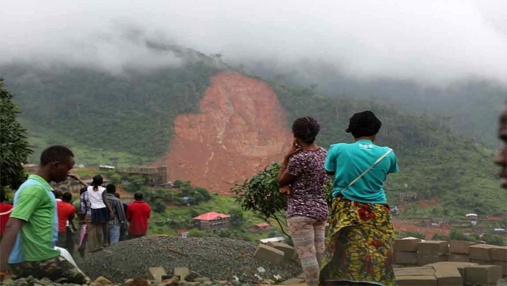 UN migration agency assists population in wake of devastating floods in Sierra Leone