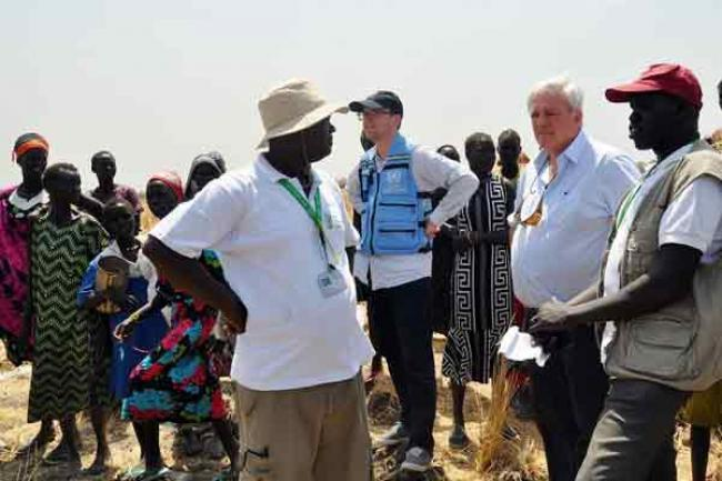 UN aid chief urges global action as starvation, famine loom for 20 million across four countries