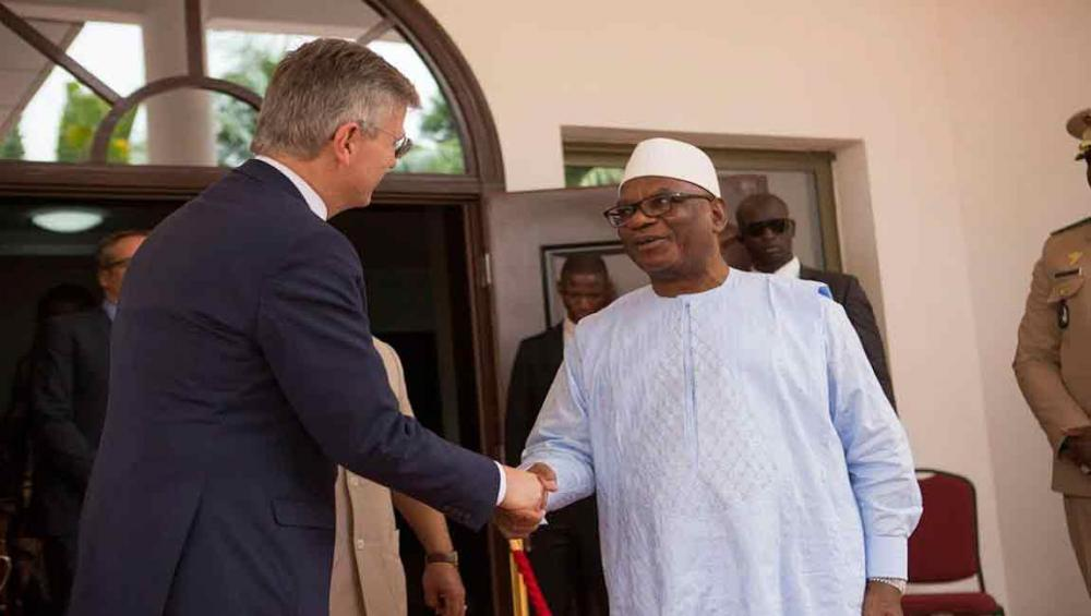 In first official visit to Mali, new peacekeeping chief praises Government's support for UN mission