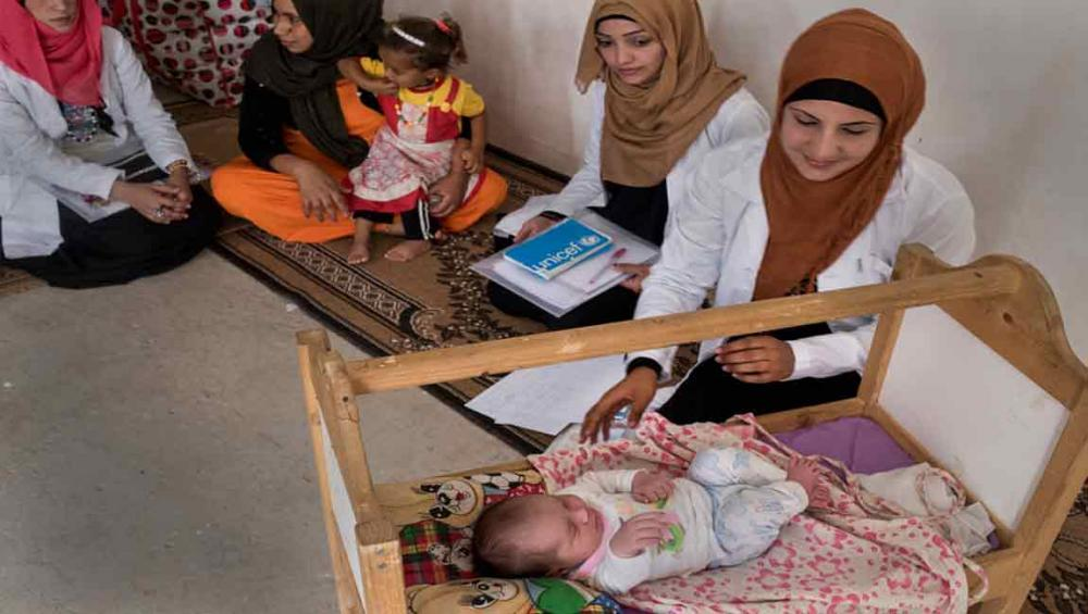 Iraq launches UN-supported action plan to save the lives of mothers and newborns