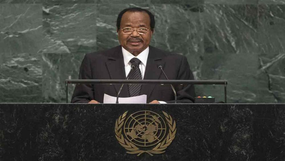 'Surge of solidarity' can halt spread of poverty, Cameroon's President tells UN Assembly