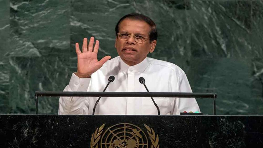 Transfer of power essential to strengthen democracy, Sri Lankan President tells UN Assembly