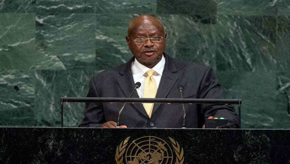 Striving for peace, decent life for all, 'very pertinent' UN Assembly theme, says Ugandan President