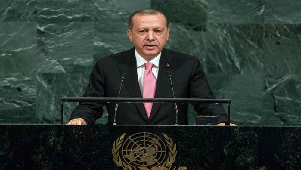 At UN Assembly, Turkey calls on world to fulfil aid pledges for hosting Syrian refugees