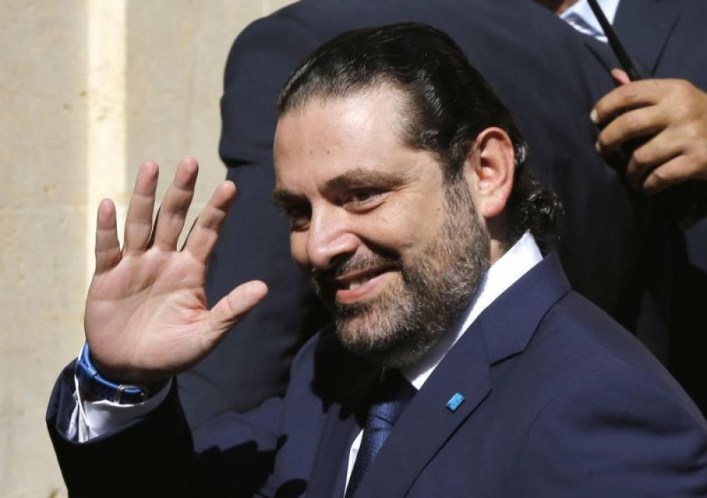 Lebanese PM Hariri returns to Beirut