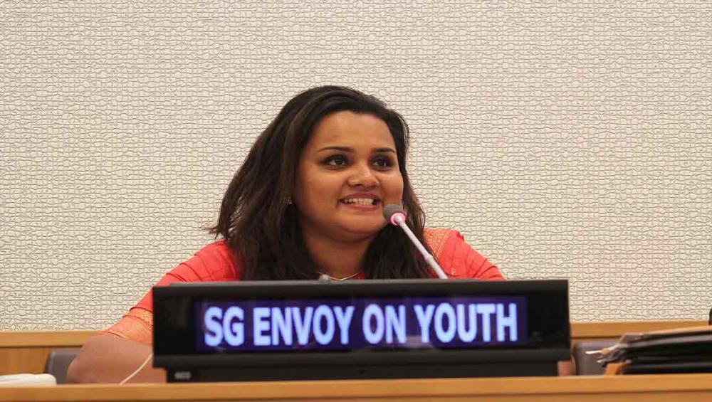 INTERVIEW: Meet the new UN Youth Envoy, Jayathma Wickramanayake