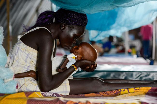 UN aid chief calls for access, funds to prevent spread of South Sudan's famine